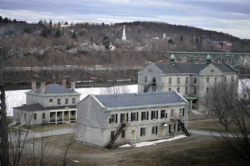 In this March 30, 2007 file photo shows the Kennebec Arsenal, a National Historic Landmark, in Augusta, Maine. A North Carolina company that agreed to preserve the historic arsenal has failed to do so and could be sued if doesn't take steps by Oct. 1, 2012, to prevent further damage.