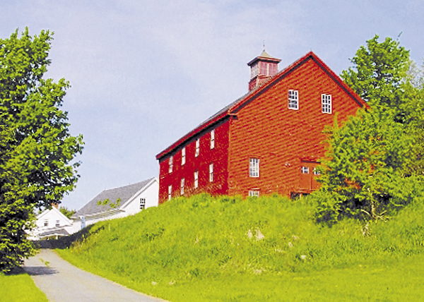 An old barn has stood on a hill alongside Route 1A in Winterport for some 150 years. This classic view of the barn does not reveal its significant structural deterioration; however, a Texas couple has purchased the farm and has started restoring the barn.