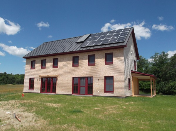 One of the many Energy-efficient, Solar powered, LEED rated homes on the Green Building Open House Tour happening all over the Northeast this Saturday, Oct 13.