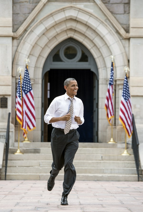 President Obama concludes a two-day tour through Colorado with a stop at Colorado College in Colorado Springs in August.