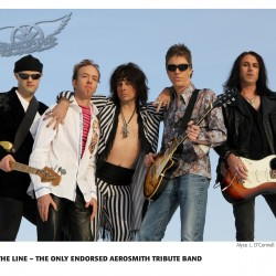 "Aerosmith Tribute ""Draw The Line"" will be at Peakes Auditorium on Friday, December 28 at 7 PM."