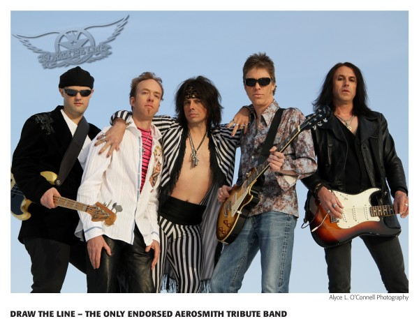 Aerosmith Tribute &quotDraw The Line&quot will be playing at Peakes Auditorium at bangor High School on Friday, December 28 at 7 PM