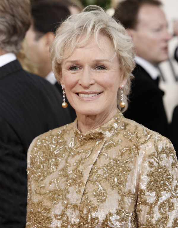 Glenn Close arrives at the 66th Annual Golden Globe Awards on Sunday, Jan. 11, 2009, in Beverly Hills, Calif. (AP Photo/Matt Sayles)