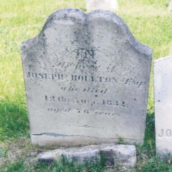 2 charged, 2 sought for questioning in connection with theft of Houlton founder's gravestone