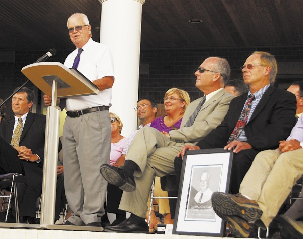 David Greenier, longtime assistant principal at Hampden Academy, is set to retire this November. Greenier was surprised to learn that the new school's dining commons was named in his honor.