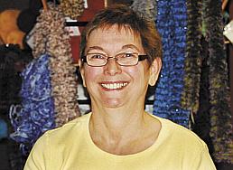 &quotSocks. I love doing socks.&quot — Lelo Hardy, knitting for 50 years.
