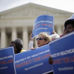 Factions prepare spin as health reform ruling nears
