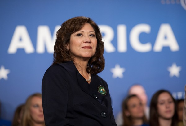 Hilda L. Solis is secretary of the U.S. Department of Labor.