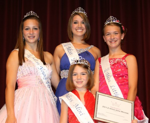 Miss Maine Day 2012 Winners