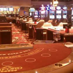 A view from inside the Oxford Casino taken in June 2012 at a news event held before the casino opened.