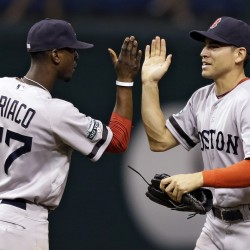 Red Sox in sweep position; Rays remain optimistic