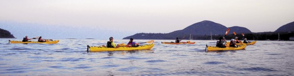 If you want to enjoy the scenic vistas of Bar Harbor, there's no better way than by kayak.