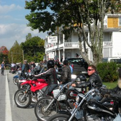 More than 200 bikes annually ride from Solon Hotel to benefit Hospice of Somerset County