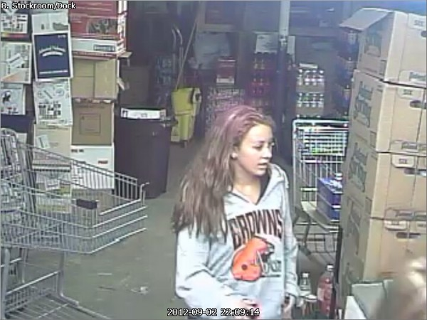 Two unidentified women caught on store surveillance cameras stole beer from the Thriftway store on Park Street in Orono Sunday night. Police are asking the public's help in identifying the two suspects.