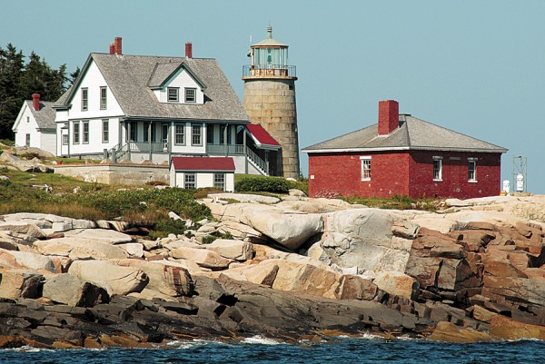 The tower at Whitehead Island Lighthouse in St. George will be open to visitors during the Fourth Annual Maine Open Lighthouse Day on Saturday, Sept. 15.