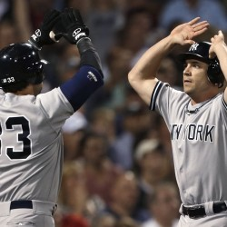 Chavez hits 2 homers, Yankees top Red Sox 6-2