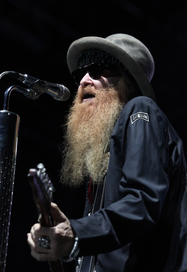 Billy Gibbons of ZZ Top performs Friday Sept. 7, 2012, at Scarborough Downs in Scarborough, Maine.