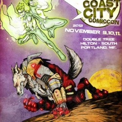 Coast City Comicon 2012 Poster