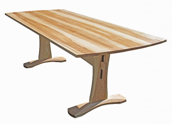 Ash Trestle Table 