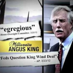 Panel questions loan guarantee for wind project in which Angus King had stake