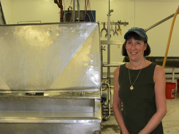 Cathe Morrill is owner of State of Maine Cheese.