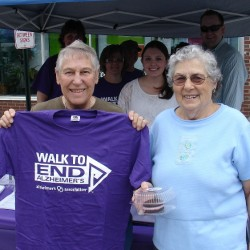 Local women participate in Alzheimer's awareness events
