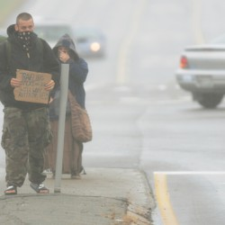 Curbing panhandlers won't be easy