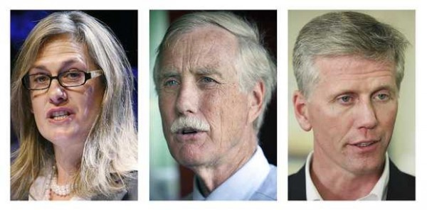 Cynthia Dill, Angus King and Charlie Summers are running to represent Maine in the U.S. Senate.