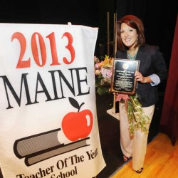 Portland educator named Maine's 2014 Teacher of the Year, urges students to be bold and 'break molds'