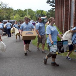 UMaine welcomes first-year students to campus