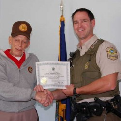 Quebec Provincial Police honors Maine sheriff