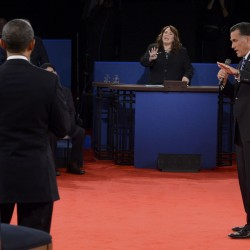 It's Jim Lehrer's turn to discuss the debate