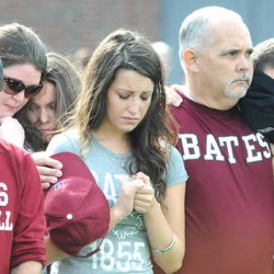 Bates student dies after fall