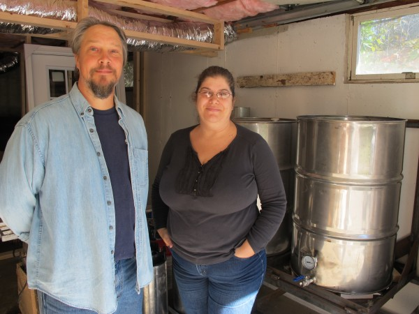Al and Mia Strong of Sedgwick have created what they say is the state's first community-supported brewery out of their home.