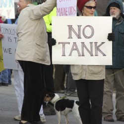 Searsport planning board votes against tank in first decision of long deliberation process