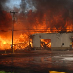 Ford dealer buying GM dealership struck by fire in Fort Kent