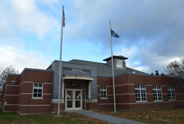 Skowhegan District Court on Monday, Oct. 22, 2012.