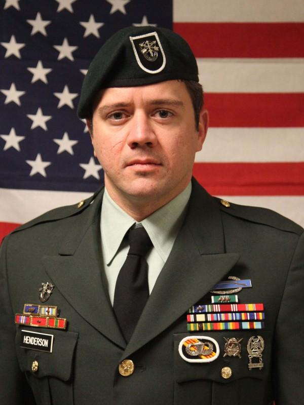 Sgt. 1st Class Aaron Henderson