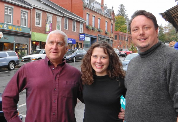 The &quotNot Famous (yet)&quot players are Eddie Adelman (from left), Danielle Bannister and Robin Jones. The group will read and perform Saturday, Nov. 3 at the Unitarian Universalist Church in Belfast.