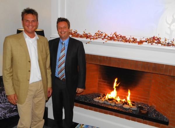 Raymond Brunyanszki and Oscar Verest are the owners of the Camden Harbour Inn.