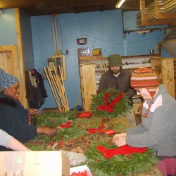 Workshop at Page Museum teaches tradition of wreath making