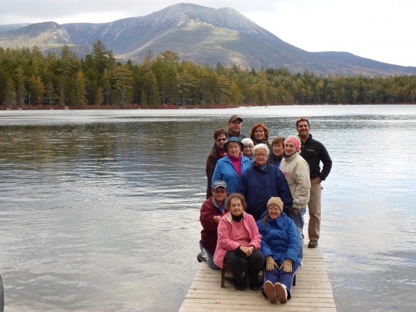 Baxter State Park was one of more than 20 destinations on the fall schedule for the Caribou Parks and Recreation Department Take It Outside program offering day trips to remote places.