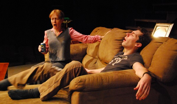 Stacey Scotte and Brad LaBree in Penobscot Theatre Company's &quotBecky's New Car.&quot