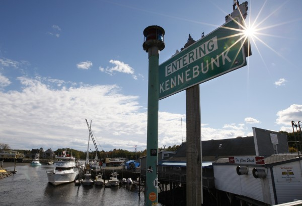 A sign is seen near a marina in Kennebunk on Oct. 12, 2012. Alexis Wright, 29,  is accused of operating a prostitution business out of her Zumba studio in Kennebunk, secretly videotaping her encounters and keeping meticulous records of her clients. Police plan to release more than 100 names little by little over the next several weeks. The warning has set off a flurry of rumors among residents who say they''ve heard the list might include lawyers, doctors, law enforcement officials and a television personality.