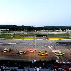 The green flag drops at the start of the late model feature at Oxford Plains Speedway in July 2012. Speedway owner Bill Ryan announced on Sunday, Oct. 14, 2012 that he has agreed to sell the track to Tom Mayberry.