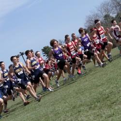 Nova Scotia's Tate sets boys course, meet records to win XC festival title