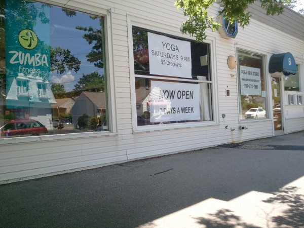 The Pura Vida-Zumba dance studio in Kennebunk.