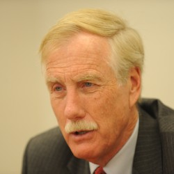 Meet Angus King: Running for Senate a 'pretty obvious choice'