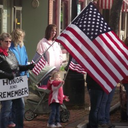More than 1,200 mourn soldier in Houlton