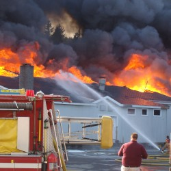 Major fire not stopping Fort Kent's Valley Auto from getting back in gear